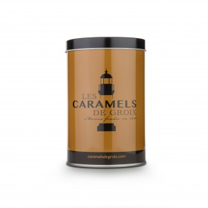Caramels au beurre salé - boite 165g